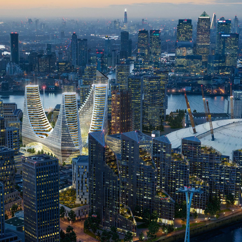 Фантастичний проект забудови півострова у Лондоні за 1 млрд фунтів