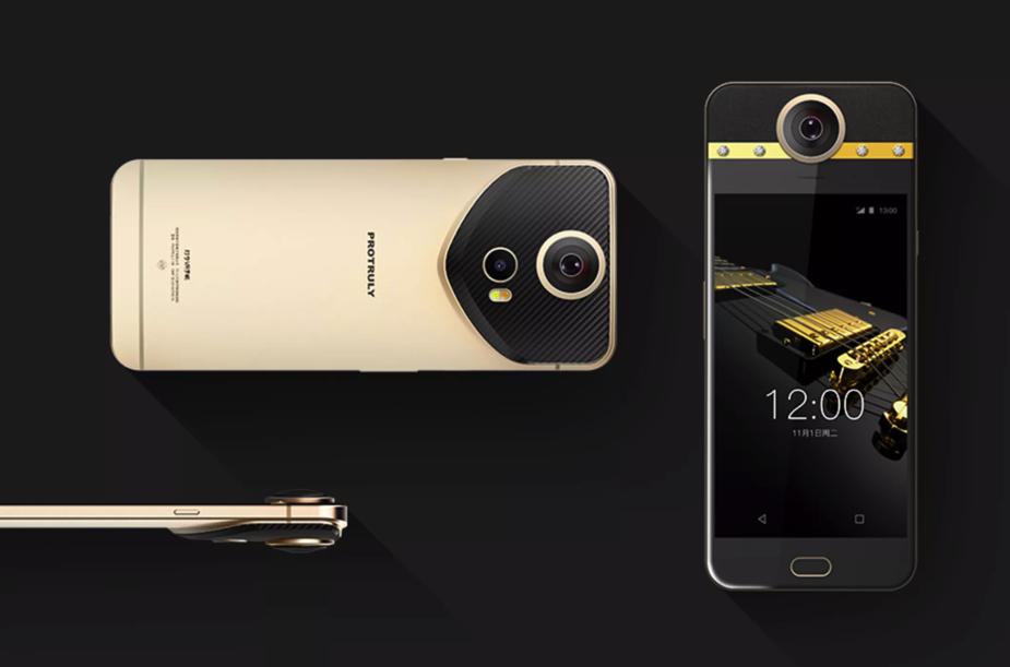 Перший у світі смартфон із вбудованою 360-градусною камерою – за $1200