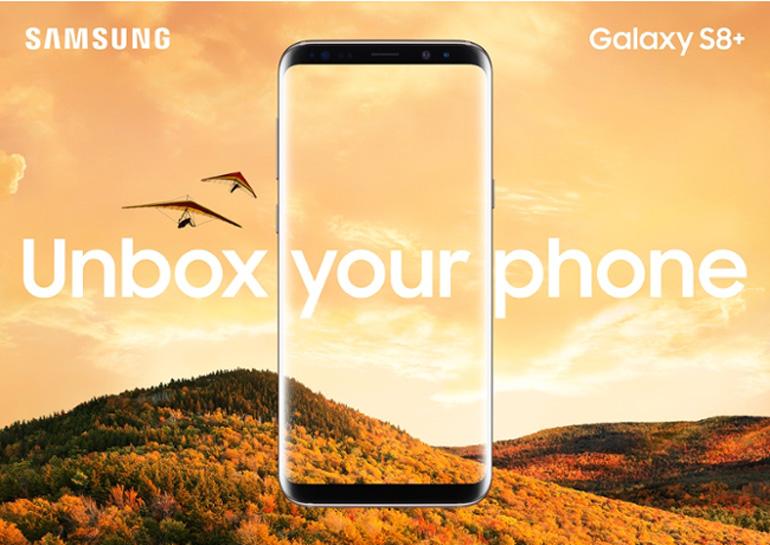 """Samsung представив новий """"безрамочний дизайн"""" у Galaxy S8 і Galaxy S8 Plus"""