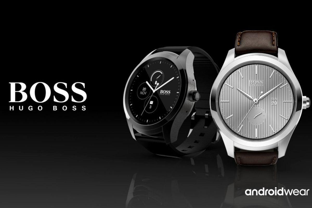 Tommy Hilfiger та Hugo Boss випустять годинники на Android Wear