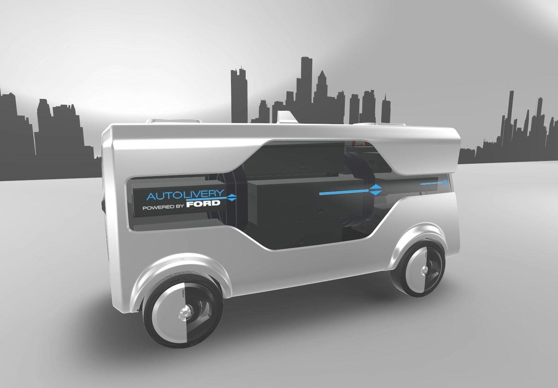 Ford представив конкурента футуристичній системі доставки Amazon