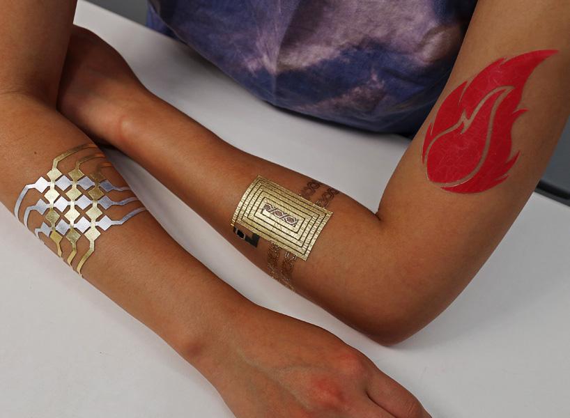 Тимчасові електронні татуюванні: style-дизайн від MIT