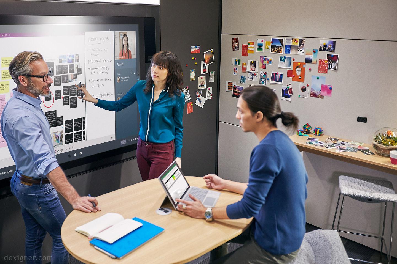 Microsoft показала, як має виглядати ідеальна дизайн-студія (Відео)