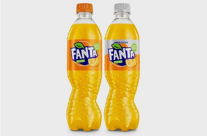 Новий дизайн Fanta: форма пляшки має значення