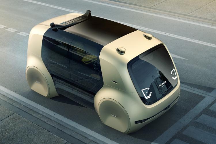 Volkswagen представив таксі майбутнього