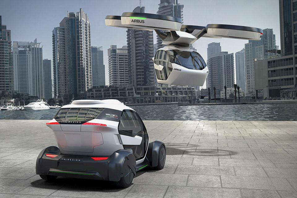 """Airbus здійснить революцію зі своїм дизайном """"літаючих авто"""" (Відео)"""