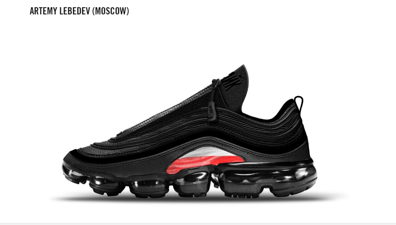 Знаменитий російський дизайнер придумав дизайн кросівок для Nike