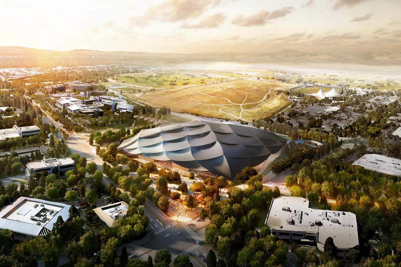 Google показав новий дизайн своєї штаб-квартири у Каліфорнії