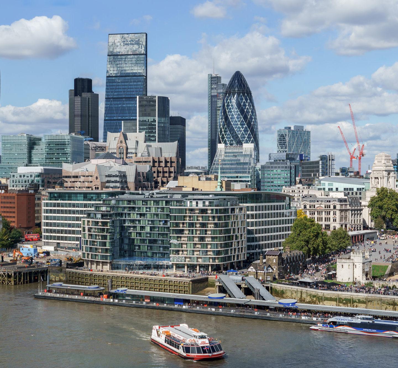 Об'єм ринку дизайну архітектури Лондона оцінили в 1,7 млрд фунтів