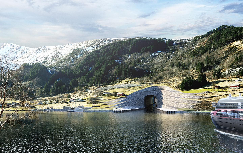 Архітектурне диво: у Норвегії побудують перший у світі судохідний тунель