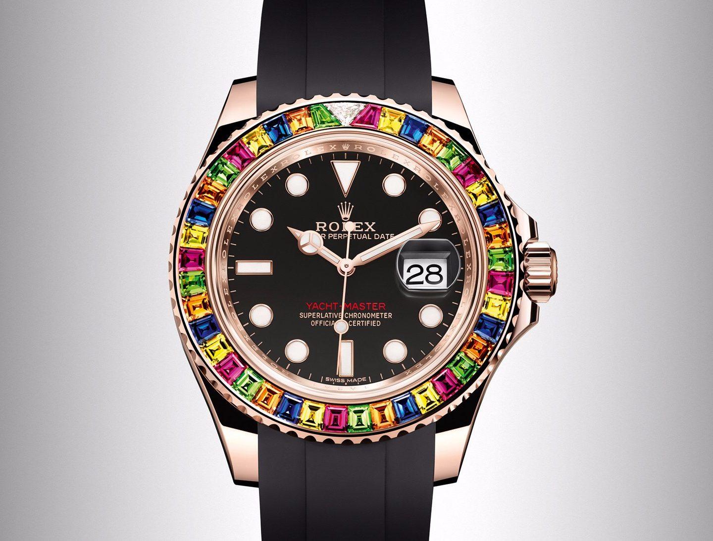 """Rolex выпустил часы с самым """"ярким"""" дизайном в своей истории"""