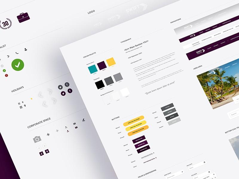 Підбірка зразків стилю для UI – від відомих дизайнерів (Частина 2)