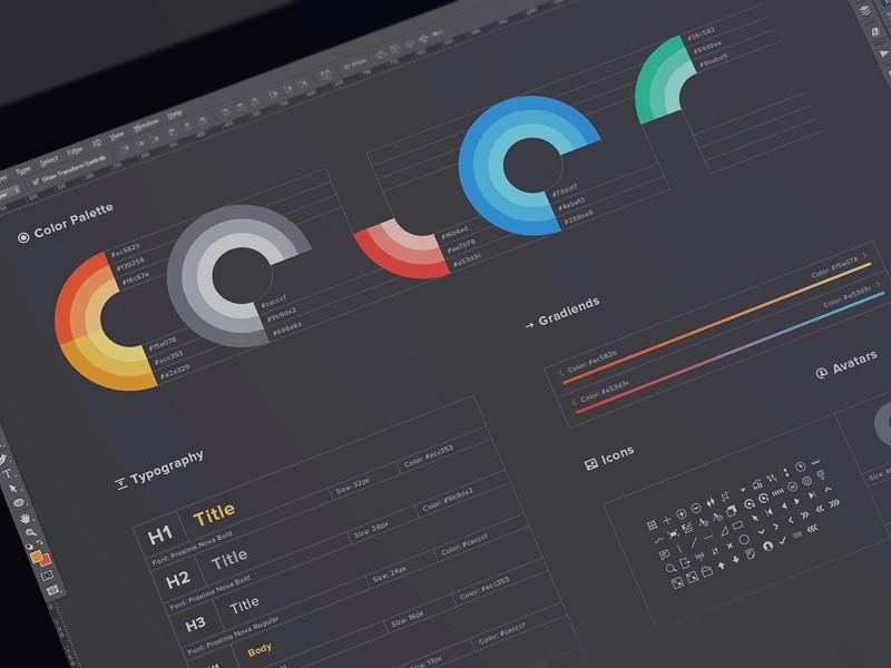 Підбірка зразків стилю для UI – від відомих дизайнерів (Частина 1)