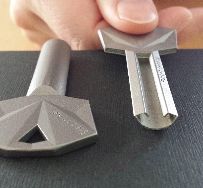 Дизайн ключа, який майже неможливо підробити