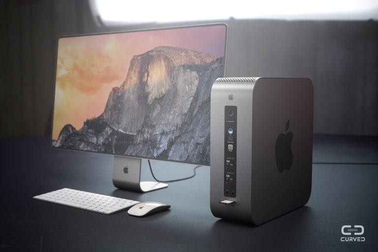 """""""Стероїдний"""" концепт Mac Pro — від німецької дизайн-студії (Відео)"""