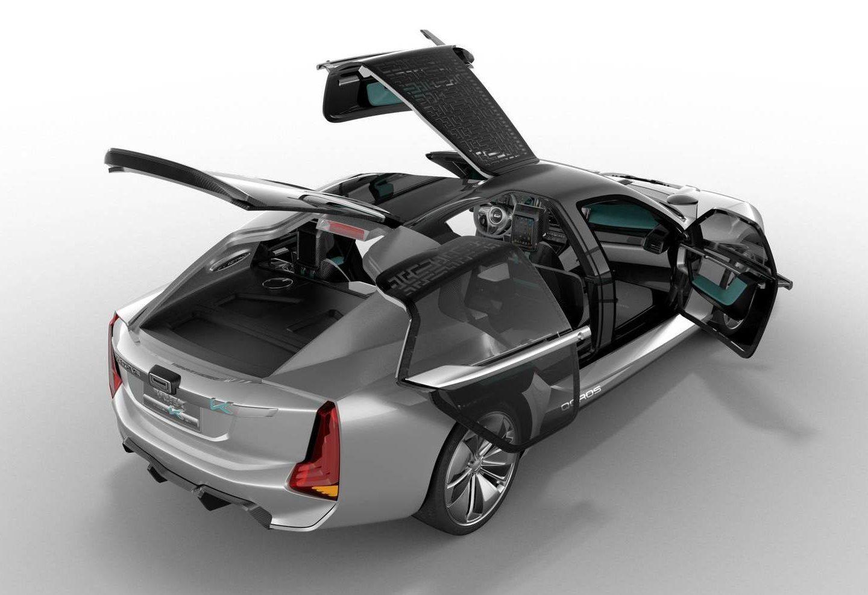 Дизайн електромобілів: асиметричний концеп-кар K-EV