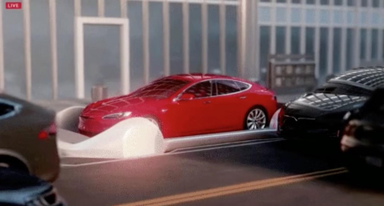 Ілон Маск придумав редизайн дорожної системи завдяки тунелям
