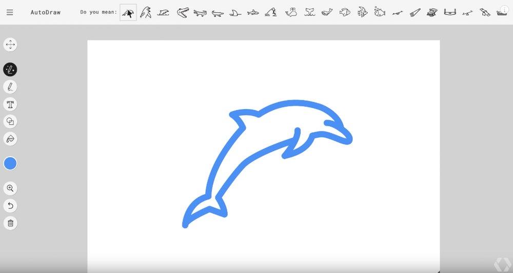 """AutoDraw: Google реалізував """"T9"""" для малювання"""