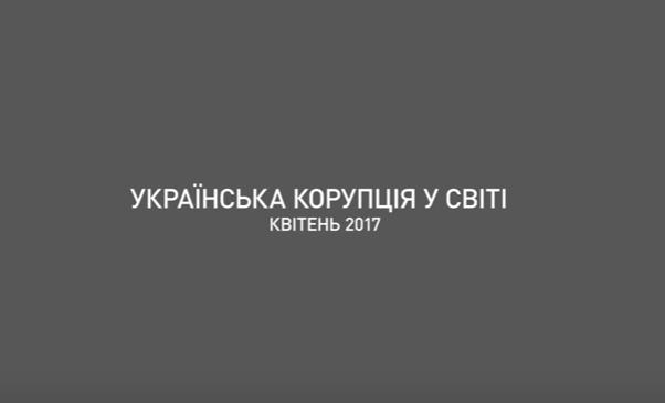 Прикольна motion-інфографіка від НАБУ: куди із України вивезли мільярди (Відео)