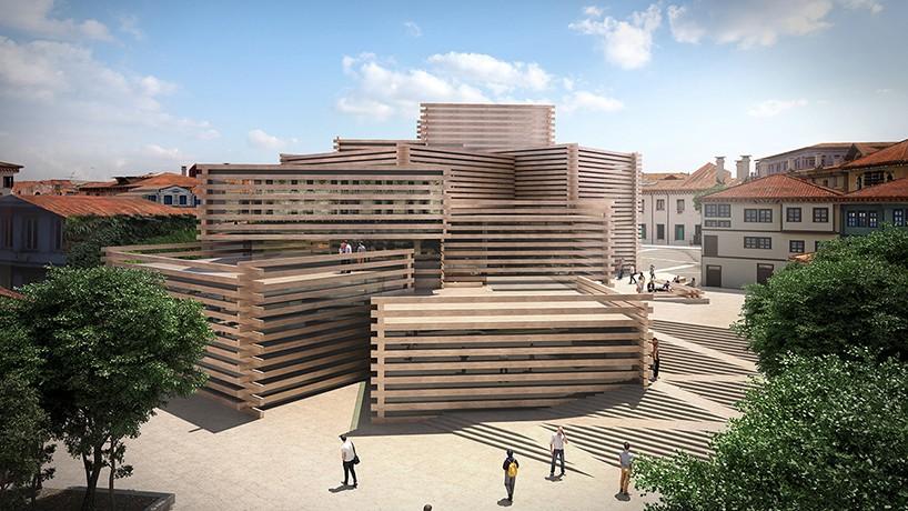 Унікальний дизайн дерев'яного музею в Туреччині (Фото)