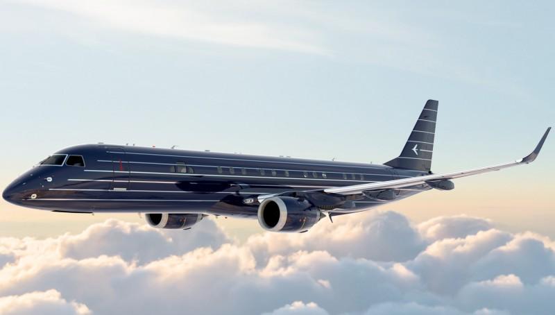 """Неймовірний дизайн літаків у стилі """"арт-деко"""" – від Embraer (Фото)"""