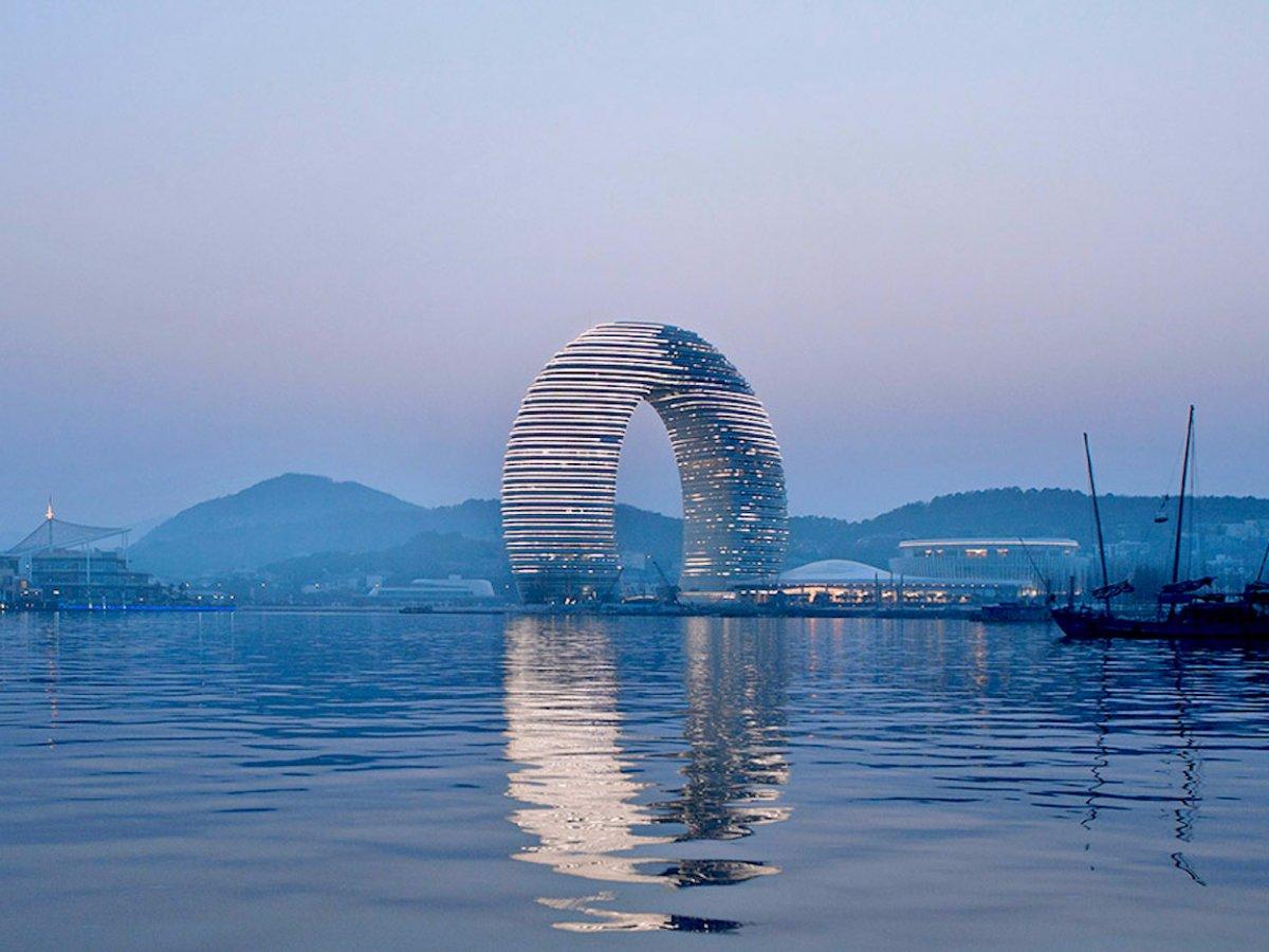 Удивительная архитектура Китая: самые красивые здания (Часть 3)