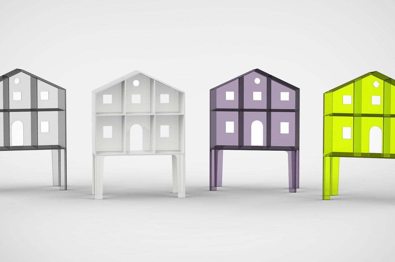 Італійський дизайнер створив лялькові будиночки для дітей і дорослих