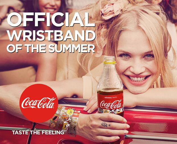 Іноваційний дизайн упаковки від Coca-Cola: браслети для молоді (Відео)