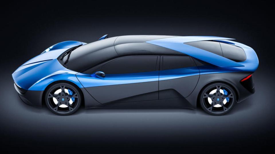 Elextra – супершвидкий електрокар із нецікавим дизайном