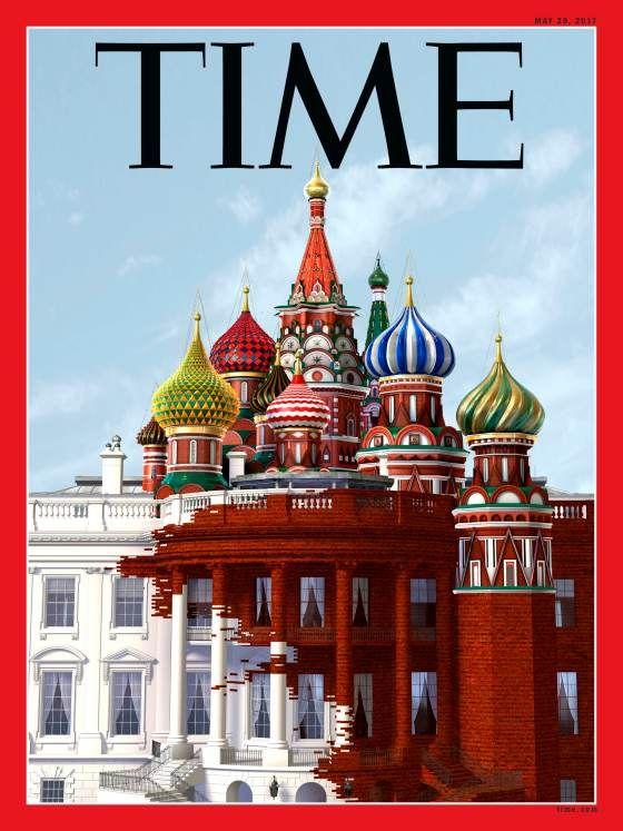 """Як російський храм проковтнув """"Білий дім"""" – на обкладинці Time"""