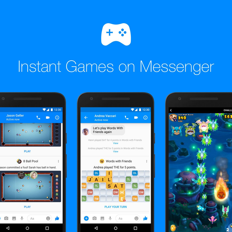 Геймдизайнерам на замітку: Facebook відкрив ігри у Messenger для всіх