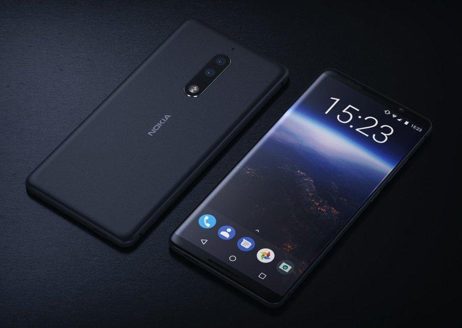 До теми майбутнього дизайну смартфонів: Nokia 9