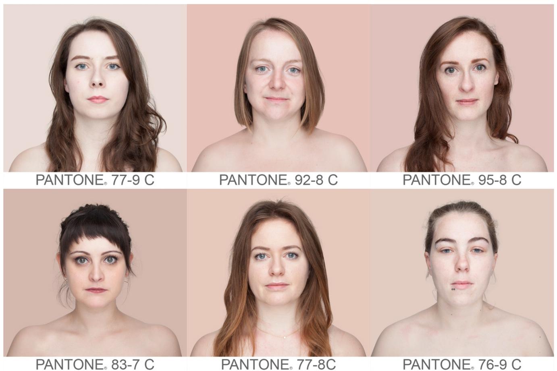 Human Pantone: бразильський фотограф створила пантон із кольорів шкіри