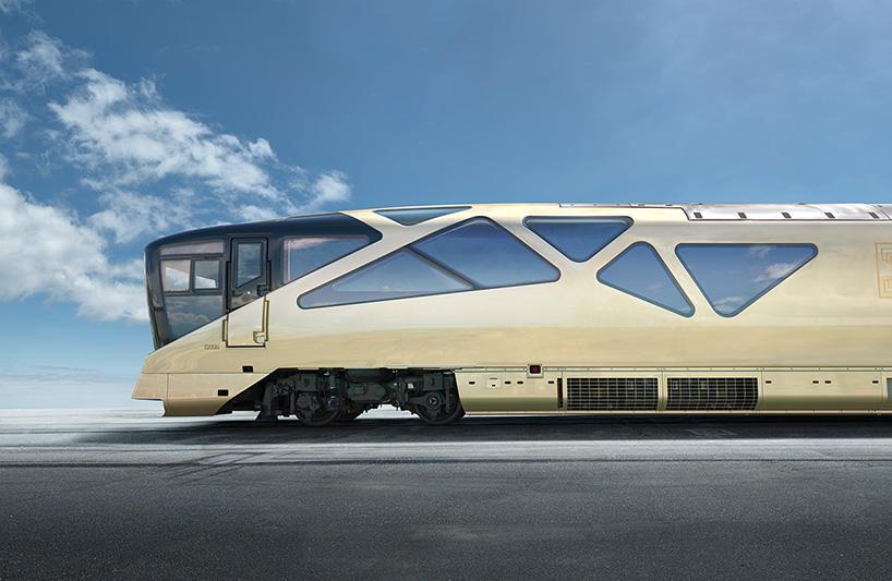 Найрозкішніший поїзд в історії – від дизайнера Ferrari (Фото)