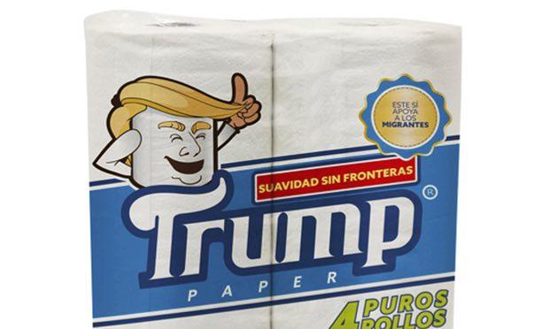 """В Мексике выпустили туалетную бумагу """"Трамп"""". Дизайн – агонь!"""