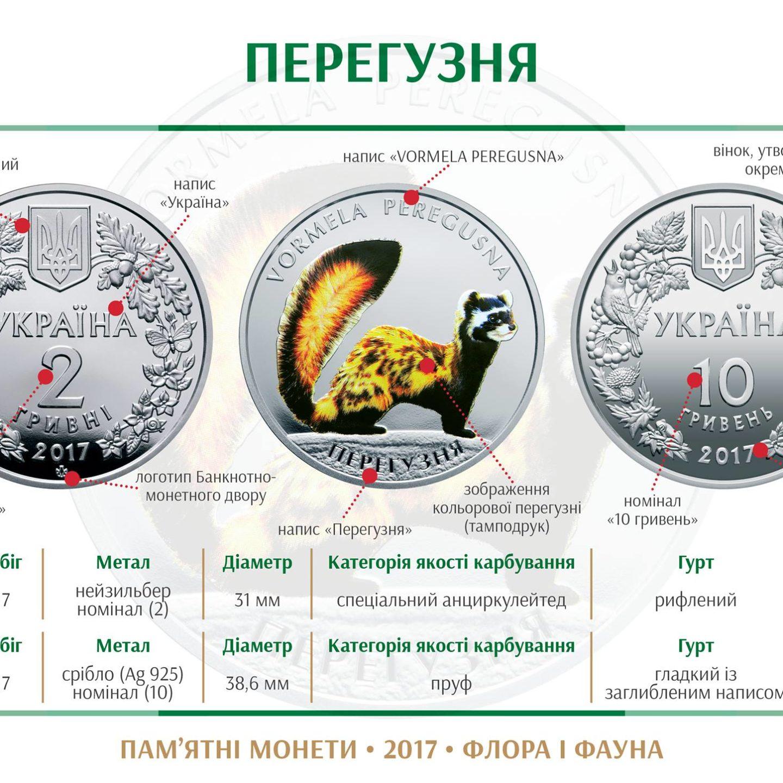 НБУ випустив нові монети – номіналом 2 і 10 гривень (Фото)