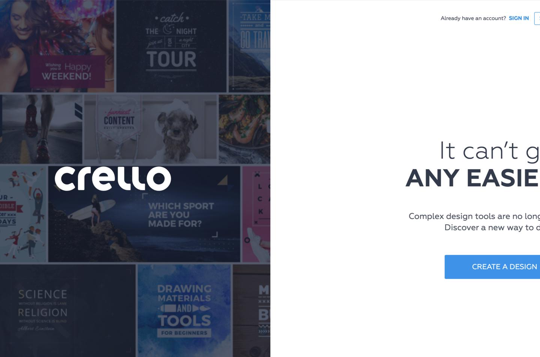 Українська компанія випустила безкоштовний графічний редактор Crello