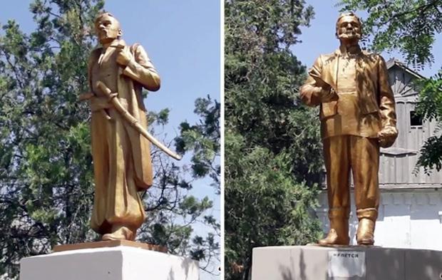 Як із пам'ятника Леніна зробити Пилипа Орлика: декомунізація+дизайн (Фото)