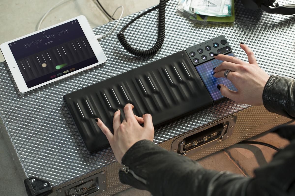 Seaboard: креативно-інноваційний дизайн інструментальної клавіатури