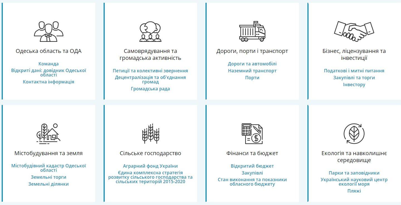 Редизайн сайту Одеської облдержадміністрації: є за що похвалити!