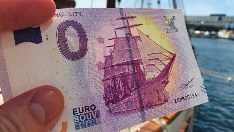 У Німеччині надрукували купюру 0 євро, яка коштує 2,5 євро (Фото)