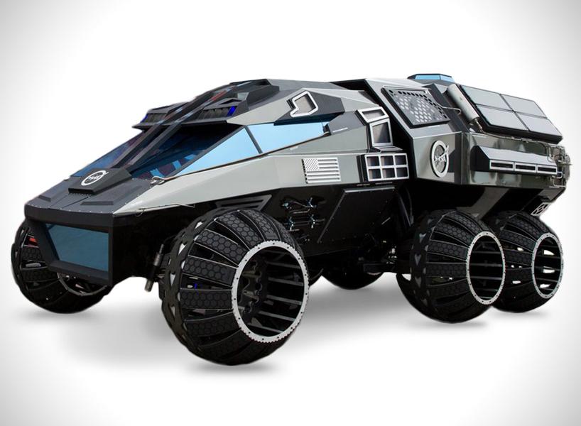 Космо-дизайн: NASA продемонструвала концепт авто для Марсу