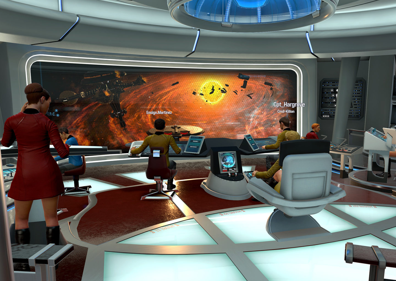 Star Trek: Bridge Crew – играйте в виртуальной реальности!