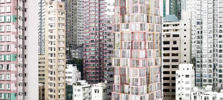 """""""Башта у башті"""" – незвичайний коцепт хмарочосів у Гонконгу"""