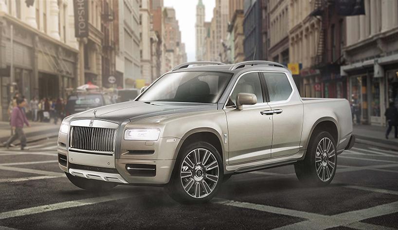 Rolls-Royce і Bentley пікап: шалений редизайн відомих розкішних авто