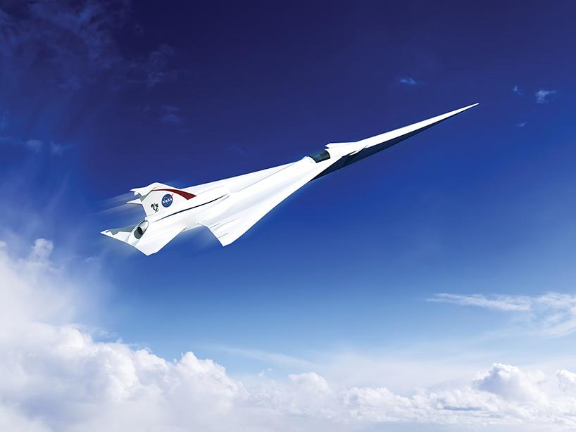 NASA створило дизайн літака, що непомітно долає надзвуковий бар'єр