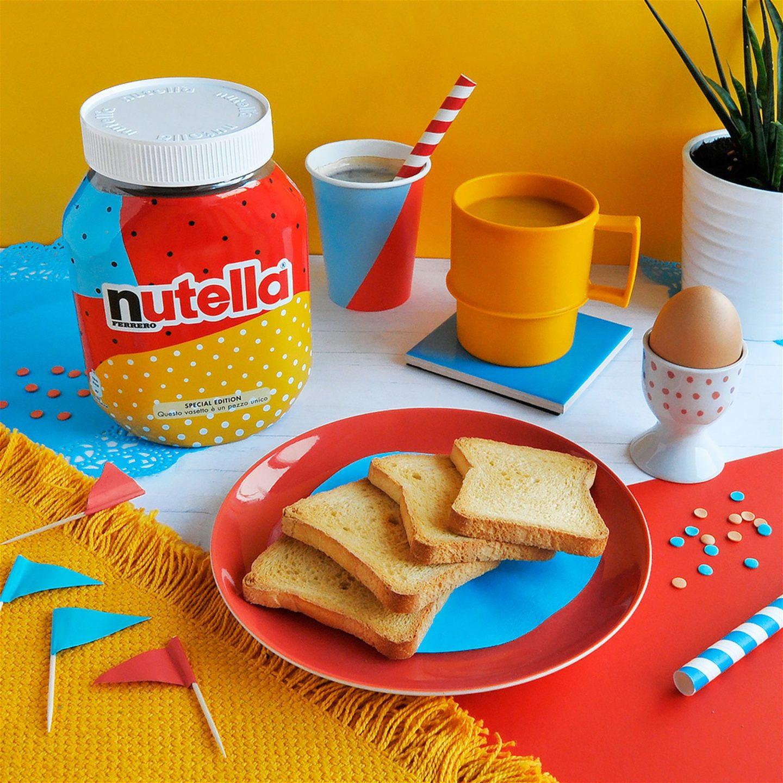 Nutella використала алгоритм для дизайну 7 мільйонів унікальних етикеток