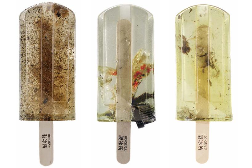 Еко-жесть: дизайнери створили морозиво із забрудненої води