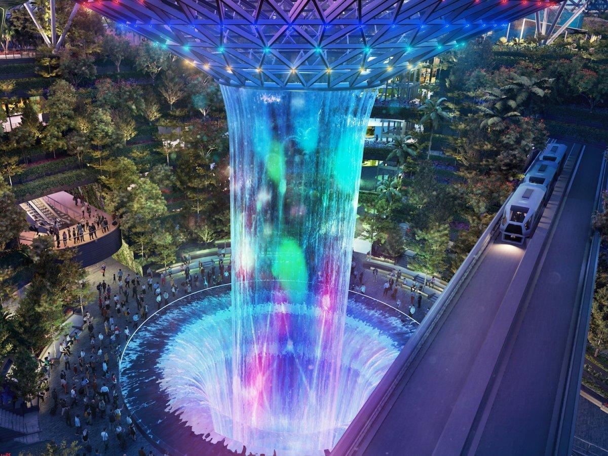 Неймовірний аеропорт Сінгапуру – майбутнє архітектури вже сьогодні (Фото)