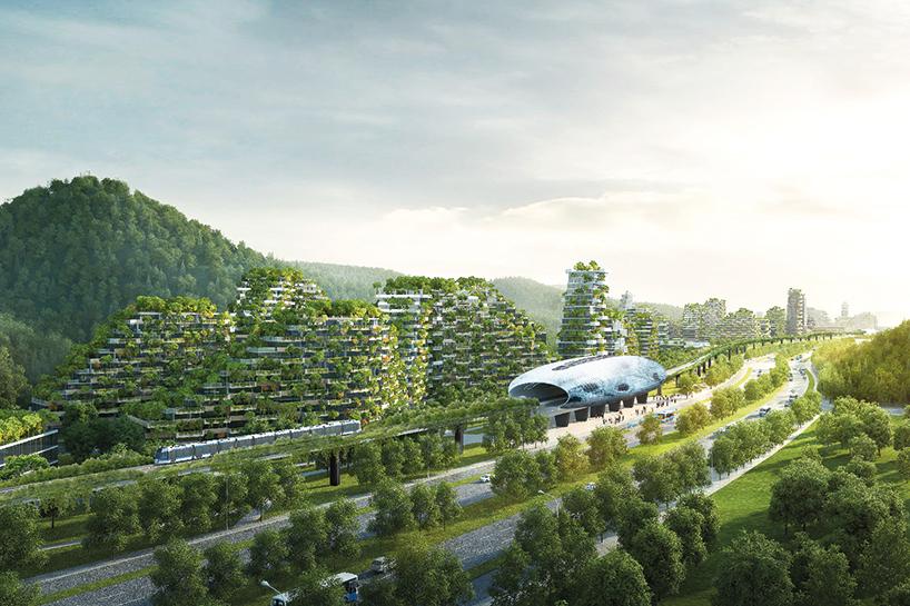 """У Китаї почали будівництво """"першого у світі вертикального лісового міста"""""""